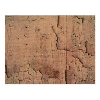 木製の質 ポストカード