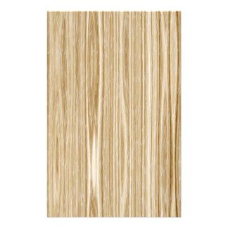 木製の質 便箋