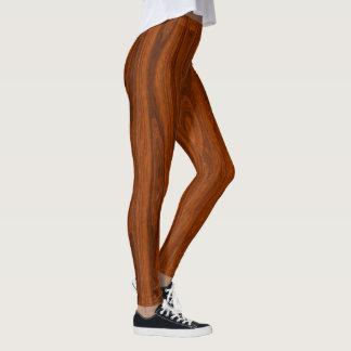 木製の足 レギンス