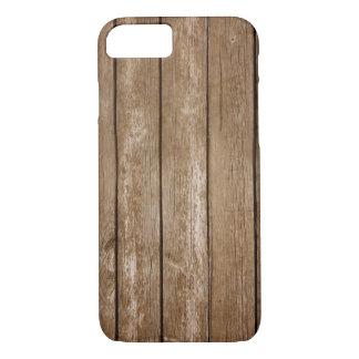 木製の電話箱 iPhone 8/7ケース