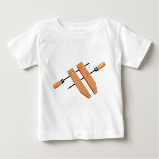 木製クランプ ベビーTシャツ
