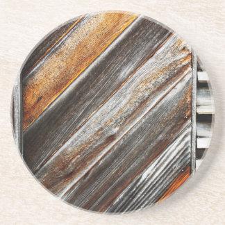 木製パターン コースター