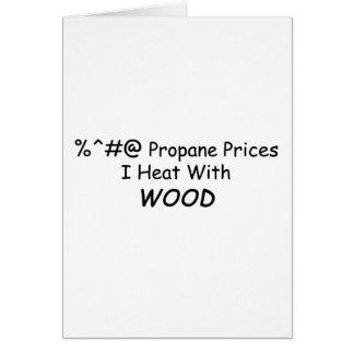 木製力Tools/Wの%^&@のプロパンの価格I熱 グリーティングカード