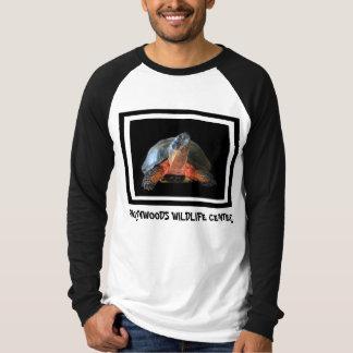 木質の野球のワイシャツ Tシャツ
