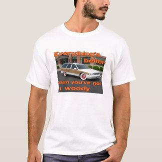 木質のTシャツによってよくして下さい Tシャツ