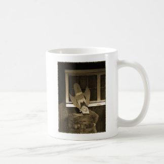 木質西のテキサス州 コーヒーマグカップ