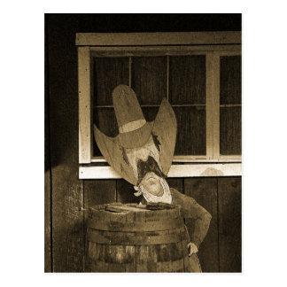 木質西のテキサス州 ポストカード