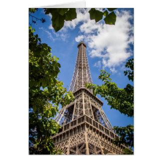 木間のエッフェル塔 カード