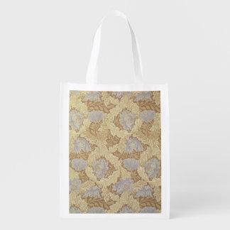 「木陰」の壁紙のデザイン エコバッグ