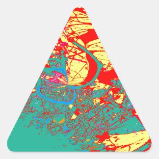 木風変わりな18 三角形シール