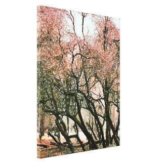 木 キャンバスプリント