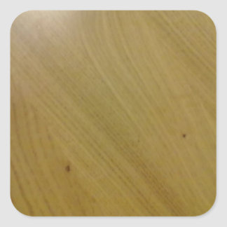 木 床 正方形シールステッカー