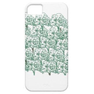 木、緑の木のロット iPhone SE/5/5s ケース