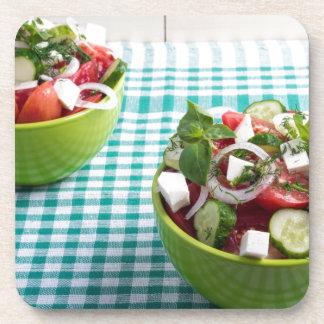 未加工トマトからの有用な菜食主義の食糧、きゅうり コースター
