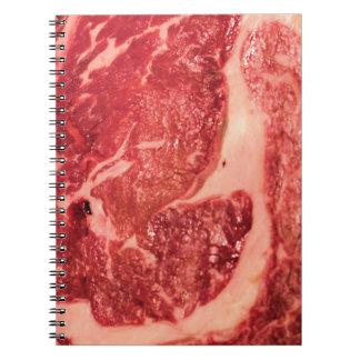 未加工肉Ribeyeのステーキの質 ノートブック