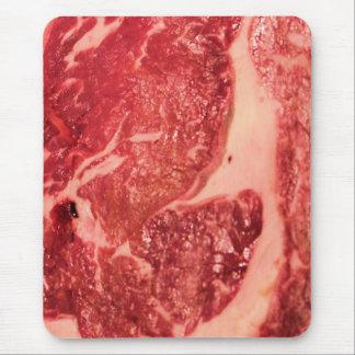 未加工肉Ribeyeのステーキの質 マウスパッド