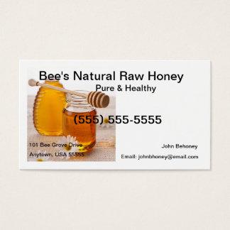 未加工蜂蜜の名刺 名刺