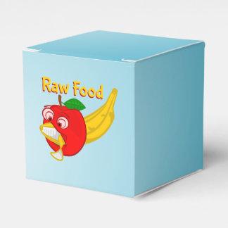 未加工食糧食糧戦いAppleはバナナを作詩します フェイバーボックス