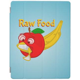 未加工食糧食糧戦いAppleはバナナを作詩します iPadスマートカバー