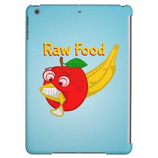 未加工食糧食糧戦いAppleはバナナを作詩します iPad Airケース