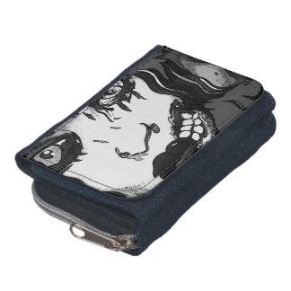未婚の地獄株式会社の芸術のゾンビの財布 ウォレット