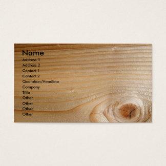 未完成木のビジネス 名刺