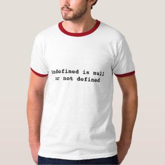 未定義ブランクまたは定義されない Tシャツ