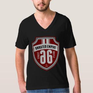 未指定帝国-シールのV首 Tシャツ