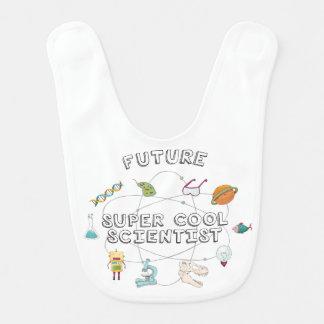 未来によってすごいクールな科学者のよだれかけ ベビービブ
