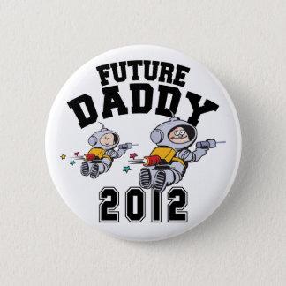 未来のお父さん2012年-ある父 5.7CM 丸型バッジ