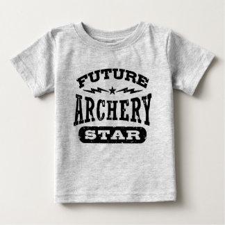未来のアーチェリーの星 ベビーTシャツ