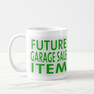 未来のガレージセール項目 コーヒーマグカップ