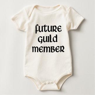 未来のギルドのメンバー ベビーボディスーツ