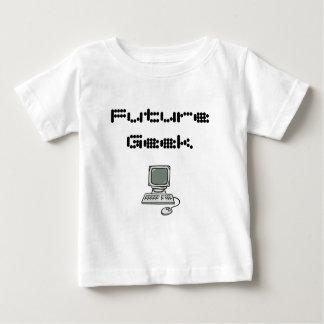 未来のギーク ベビーTシャツ