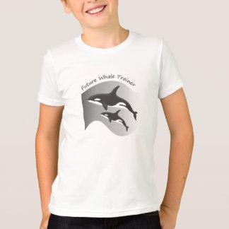 未来のクジラのトレーナー Tシャツ