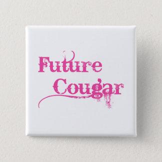 未来のクーガー 5.1CM 正方形バッジ