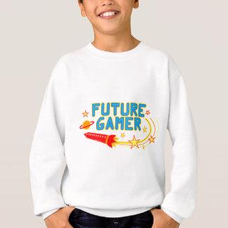 未来のゲーマー スウェットシャツ