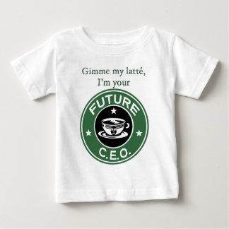 未来のコーヒー鎖CEO ベビーTシャツ