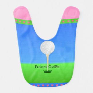 未来のゴルファー-女の子 ベビービブ