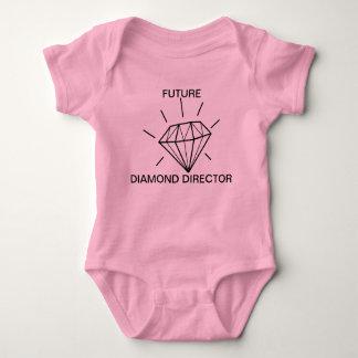 未来のダイヤモンドディレクター ベビーボディスーツ