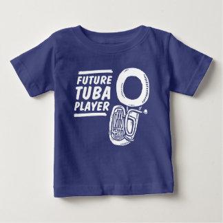 未来のテューバプレーヤー ベビーTシャツ
