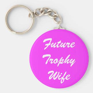 未来のトロフィの妻 キーホルダー