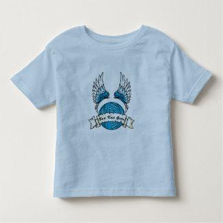 未来のニットの女の子 トドラーTシャツ