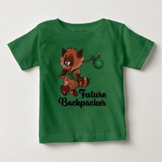 未来のハイカー ベビーTシャツ