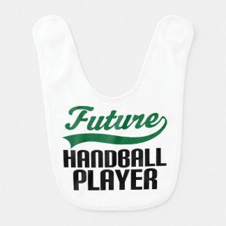 未来のハンドボールプレーヤーのベビー用ビブ ベビービブ