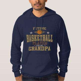 未来のバスケットボール選手は私の祖父を好みます パーカ