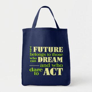 未来のバッグ トートバッグ