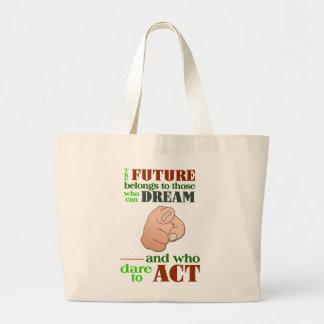 未来のバッグ ラージトートバッグ