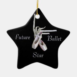 「未来のバレエの星」のオーナメント セラミックオーナメント