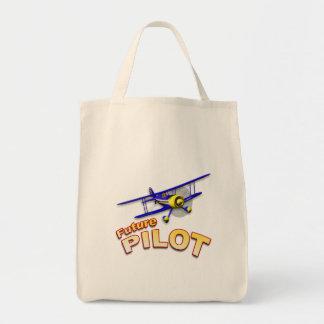 未来のパイロット トートバッグ
